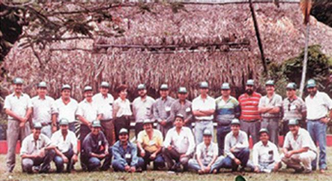 La fuerza de ventas estaba conformada por 14 Agrónomos.